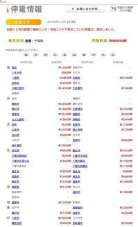 千葉県では46万軒も停電が続いています - ながいきむら議員のつぶやき(日本共産党長生村議員団ブログ)