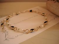 小さな小さな真珠のブレスレット -  かざり工房サリュー 職人さんのいるお店