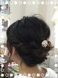 オトナのまとめ髪 第2弾 - ☆お肌に優しい 低刺激の白髪染め 大人のためのおしゃれサロン 岩見沢美容室ココノネ太田汐美の パーマネント日記
