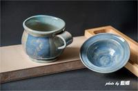 「高台の外れたカップ」 - 藍の郷