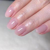 さくら貝のようなピンクが可愛い! - 札幌駅近くのジェルネイルサロン☆nailedit:ネイルエディット