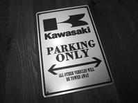Kawasaki PARKING ONLY! - Green&Black
