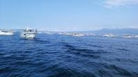 日曜日は熊本県玉名漁港よりタチウオ釣りへ出船 - ステンドグラスルーチェの日常