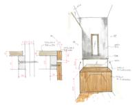 トイレの正面 - 佐々木善樹建築研究室・・・日々のコト・・・