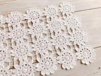 お花モチーフのレース編み完成です* - Natural style*