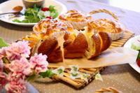 デニッシュロール・キャロットブレッド - 小麦の時間   京都の自宅にてパン教室を主宰(JHBS認定教室)