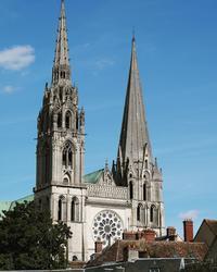 シャルトル大聖堂 - カメラのまばたき