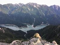 中部山岳針ノ木岳を越えてDay2針ノ木峠から針ノ木岳を越えて赤沢岳へMount Harinoki in Chūbu-Sangaku National Park - やっぱり自然が好き