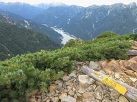 中部山岳針ノ木岳を越えてDay2赤沢岳から新越乗越を越えて種池へMount Akazawa in Chūbu-Sangaku National Park - やっぱり自然が好き