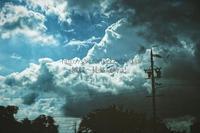 居座る夏雲と不安定な空。 - ~風紋~徒然歳時記