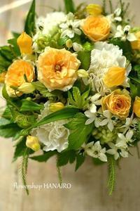 愛犬をなくされた友人へ贈るフラワーアレンジメント。 - 花色~あなたの好きなお花屋さんになりたい~