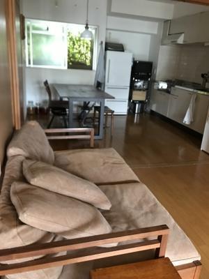 上質な家具とグリーンのある空間 - 丘の上の家