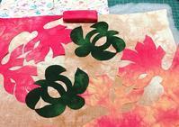 珊瑚とホヌのキットで... - ほっと一息・・~Sakura's Hawaiian QuiltⅡ
