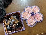 オートクチュール刺繍のブローチ - お針箱と暮らし 123