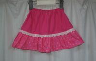 52.ディズニーのスカートのリメイク - フリルの子供服