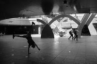 Street Dancer in Namba O-CAT - スポック艦長のPhoto Diary