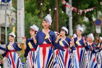 2019第66回よさこい祭り本番2日目その17(り組(高知県理容生活衛生同業組合)) - ヒロパンのよさこいライク・N-VANライフ