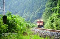 津川→三川の昭和橋跡で撮影 - Salamの鉄道趣味ブログ