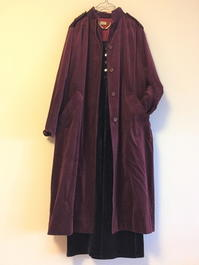 Dior Velor coat - carboots