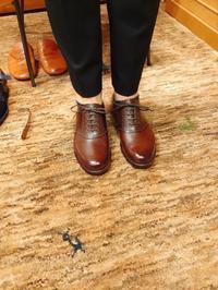 本日は荒井弘史の入店日!! - Shoe Care & Shoe Order 「FANS.浅草本店」M.Mowbray Shop