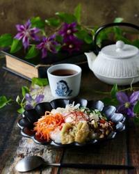 ビビンバの朝ごはん - ゆきなそう  猫とガーデニングの日記
