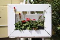 額縁ハンギングリメイク - my small garden~sugar plum~