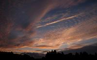 西の空夕刻 - へっぽこな・・