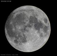 中秋の名月撮り直し - 亜熱帯天文台ブログ