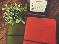 新しい手帳 - 蝶のテーブルクロス