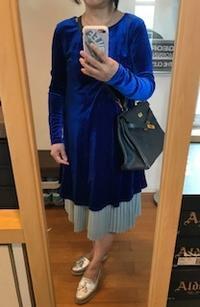 blue velvet - 着まわせない