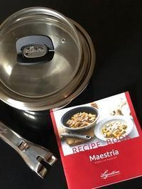 ラゴスティーナ新シリーズ「Maestria(マエストリア)」レシピブック - ただいまお料理中