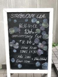 槌谷知佳 10th anniversary live「足跡」@ストロボカフェ北参道 2019.9.15 - Guitarのひとりごと