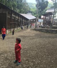 夏の日本に里帰り⑧〜チビッこ忍者村 - タワーブリッジの麓より