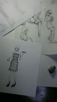 漫画と並行して描こうと思ったが無理でやんす - HIRAKAWA JUN 平川 準 描いたり弾いたり