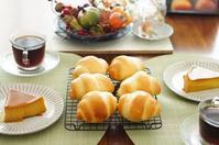 溶け出るバターは勿体ない - 大阪 北摂 茨木 南茨木 パン教室choco cafe* 初心者歓迎 手ごねパン作り
