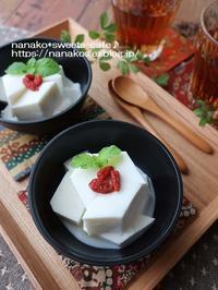 冷やして杏仁豆腐 - nanako*sweets-cafe♪