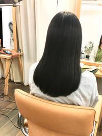酸性縮毛矯正をリタッチで。 - 吉祥寺hair SPIRITUSのブログ