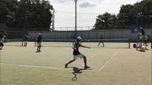 練習試合 VS北里大学 - 東京電機大学理工学部硬式庭球部