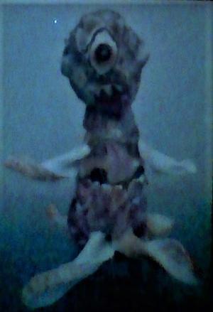 ナックラヴィ - オリジナルの怪獣怪人