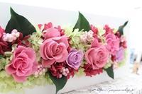 『日比谷花壇』素敵なプリザーブドフラワーのサプライズギフト♪ - neige+ 手作りのある暮らし