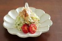 青のりとチーズのおかかサラダ - Takacoco Kitchen