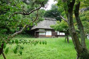福岡市の平尾山荘 - レトロな建物を訪ねて