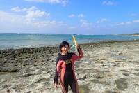 一転しての青空~大度海岸(ジョン万ビーチ)シュノーケリング~ - 沖縄本島最南端・糸満の水中世界をご案内!「海の遊び処 なかゆくい」