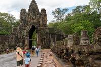 夏旅2019 悠久の歴史を巡るカンボジアの旅 その4 アンコールトム、バイヨンの微笑み - そら いろ  うみ いろ