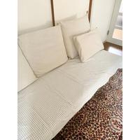 不要な掛け布団カバーをソファーカバーに - 編み好き@amiami通信