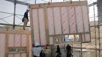【大型パネル建て方現場見学会】のお知らせです。 - 50代からの家づくり。