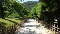 日本庭園の直線通路【栗林公園の場合】 - ライナスの電気毛布