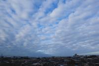 層状雲(層積雲) - 日々の風景
