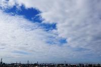 まだら雲(層積雲) - 日々の風景