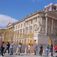 ベルサイユ宮殿 - カメラのまばたき